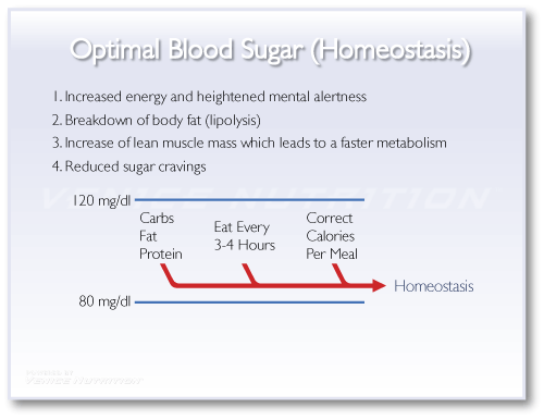 Blood Sugar Stabilization Graphic